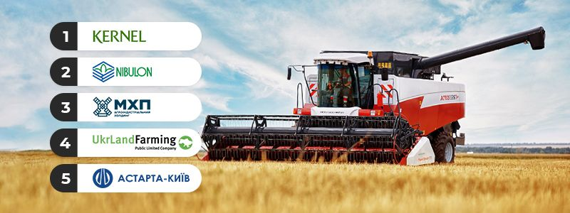 Five largest agricultural holdings in Ukraine: rating Mizez